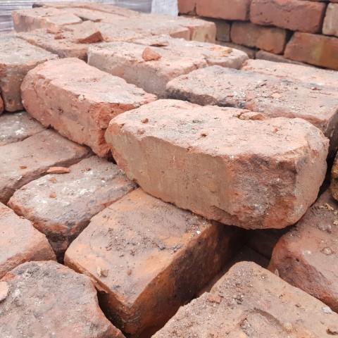 """Cheshire Orange Wirecut Brick 3"""""""