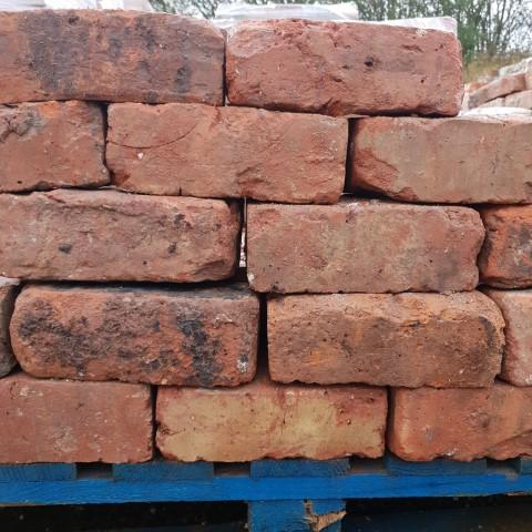 """3"""" Cheshire Orange Wirecut Brick"""