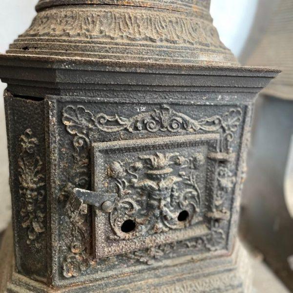 Decorative Cast Romanian Stove