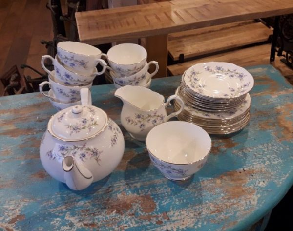 Duchess Tranquility Fine Bone China Tea Set