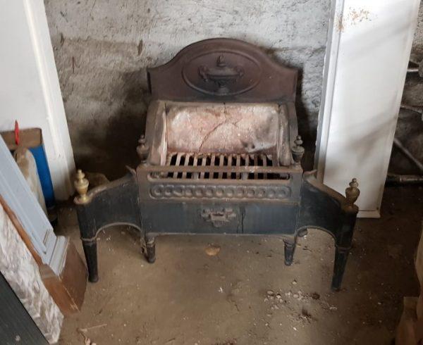 Reclaimed Fire Basket