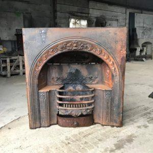 Georgian Cast Iron Fire Insert