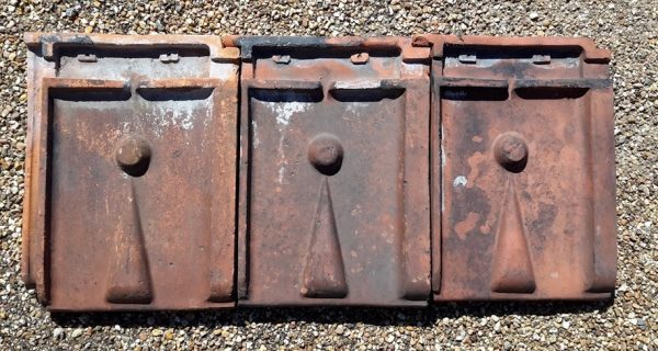 Interlocking Clay Roof Tile batch