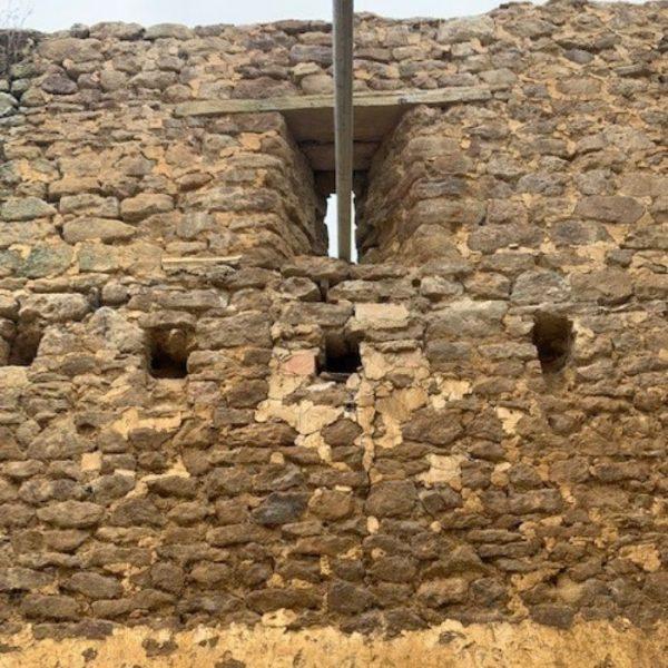 Ironstone Dry Stone Walling