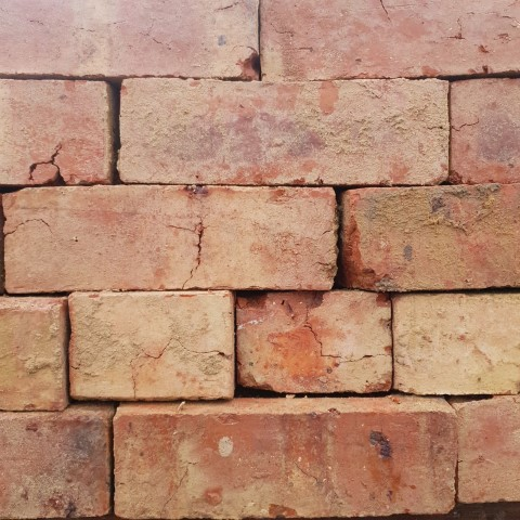 Northampton Orange Wire Cut Brick
