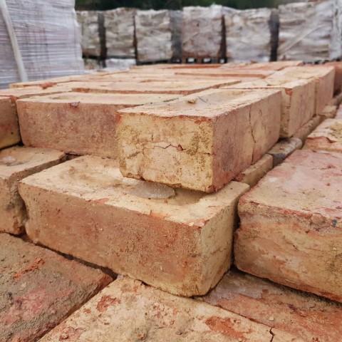 """ Northampton Orange Wirecut Brick"