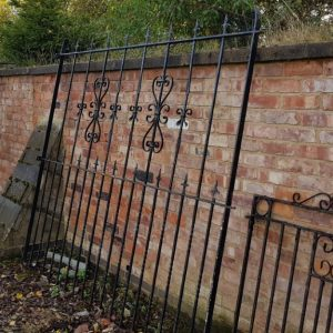 Reclaimed Ornate Fencing Panel