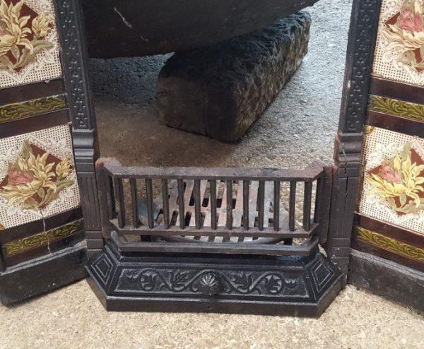 Reclaimed Cast Iron Fire Insert