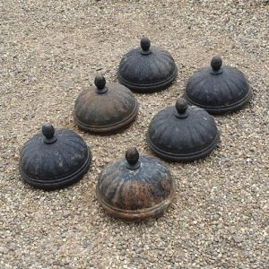 Reclaimed Cast Iron Pillar Top Finials