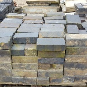 Reclaimed Large Staffordshire Blue Pavers Wall Copings