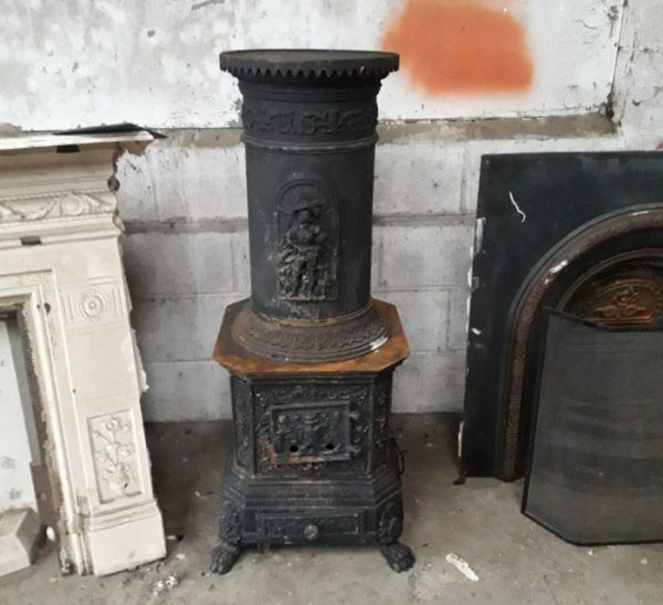 Reclaimed Romanian Stove
