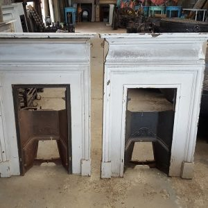 White Bedroom Fire Surround