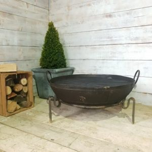 106cm Antique Fire bowl