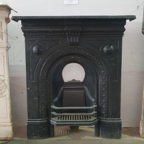 Cast Iron Fireplace Insert Good Condition