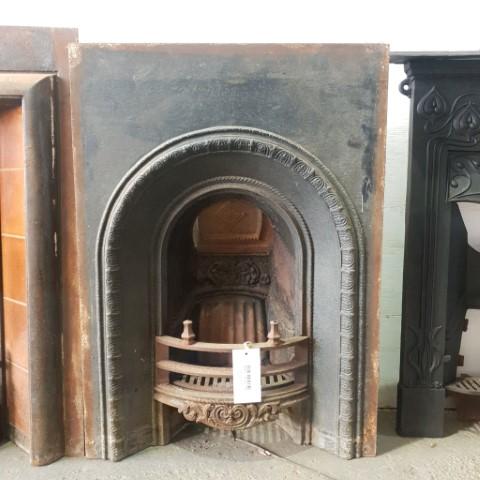 Cast Iron bedroom fireplace insert
