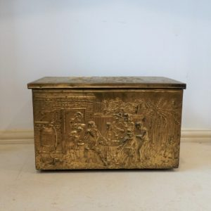 Coal Box Brass and Pine