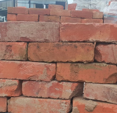 Light Red wirecut brick