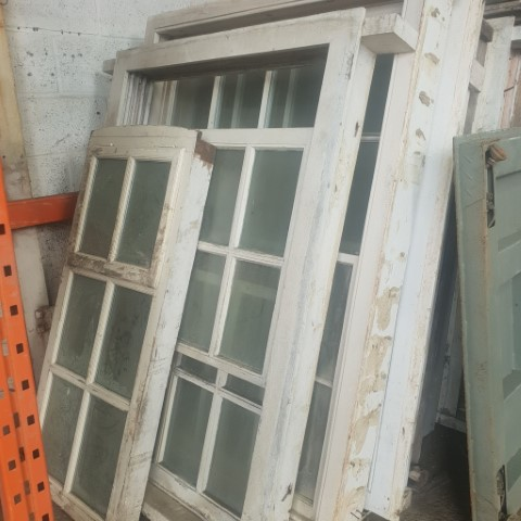 Reclaimed Sash Windows