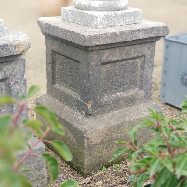 Reclaimed Stone Plinth