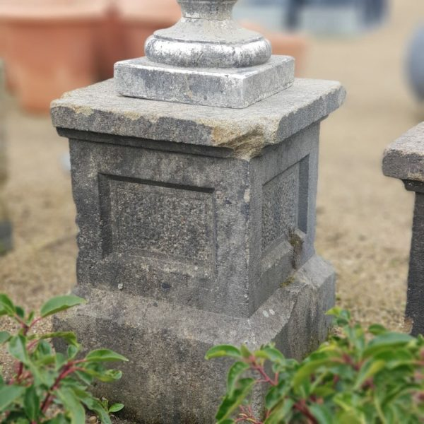 Reclaimed Stone Plinth Weathered