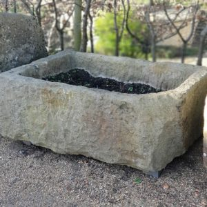 Reclaimed Stone Trough (