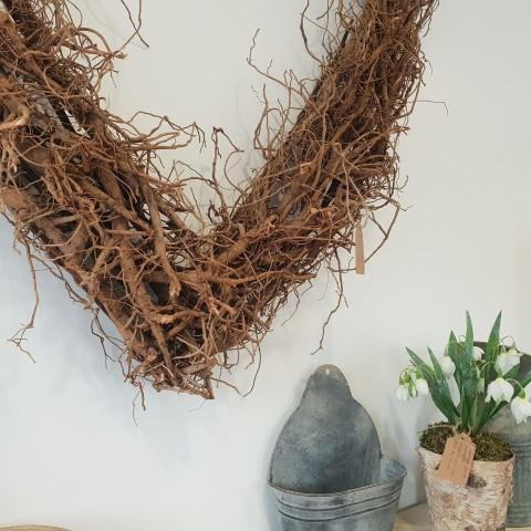 Willow Heart Wall Decoration