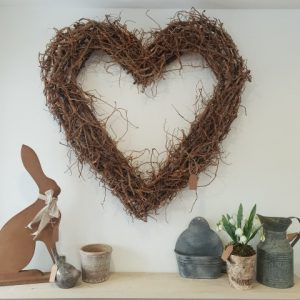 Willow Heart Wall Hanging