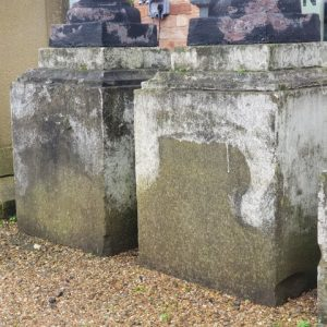 Yorkstone Classic Square Bases with Stepped Top Large
