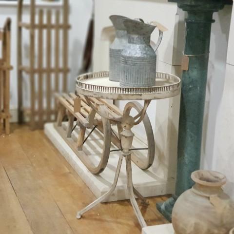 Antique Zinc effect Vase jug