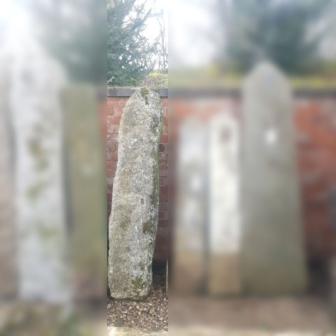 Cornish Granite Monolith 180cm x38cm