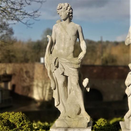 Apollo Garden Statue