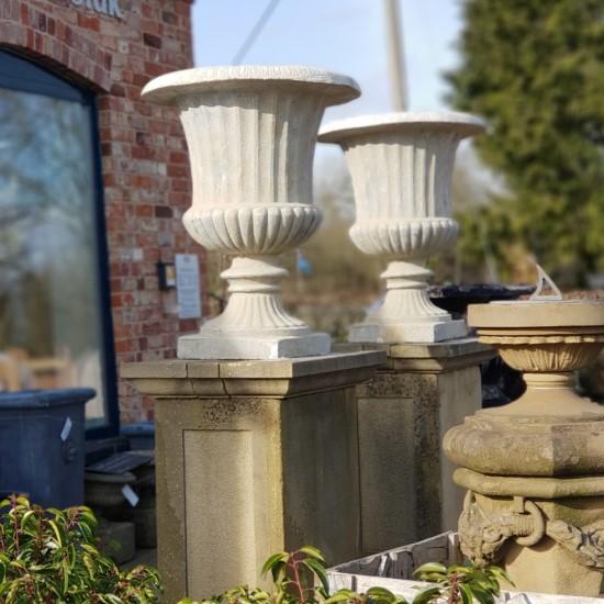 French Stone Urns