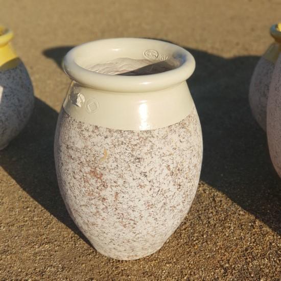 Ivory Olive Jar