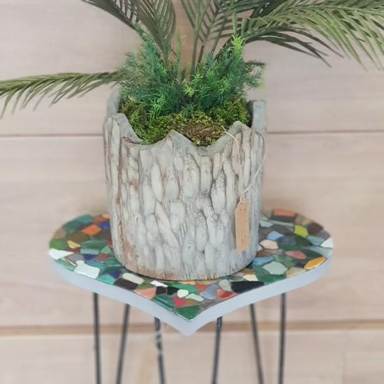 Mosaic Table Heart Shaped