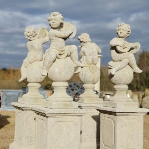 Classical French Musician Putti