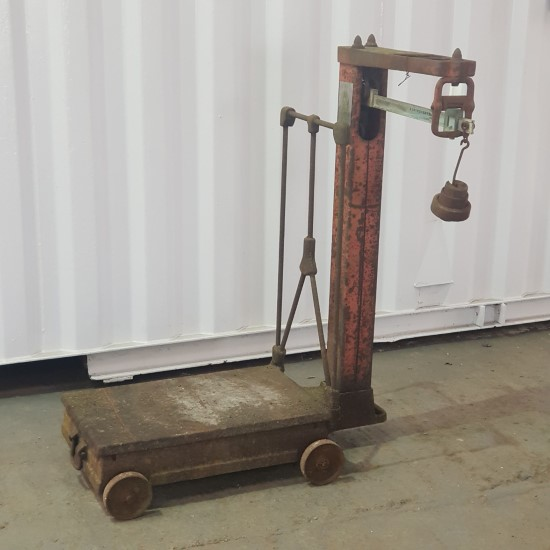 Reclaimed Sack Weighing Scales