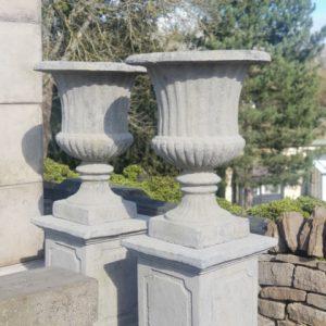 Reconstituted Stone Urn