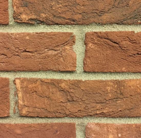 Rustic Orange Handmade Brick