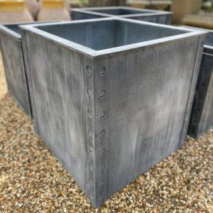 Bath Zinc Planter Large
