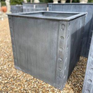 Bath Zinc Planter Medium