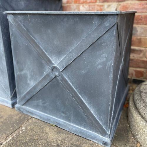 Mayfair Zinc Planter Medium