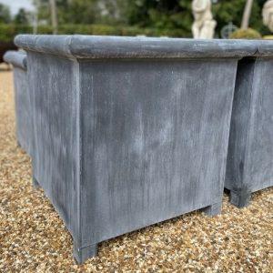 Large Oxford Zinc Planter