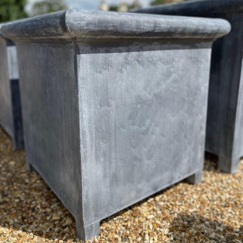 Medium Oxford Zinc Planter