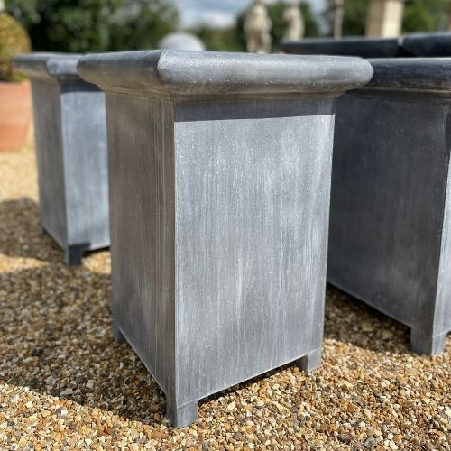 Tall Oxford Zinc Planter