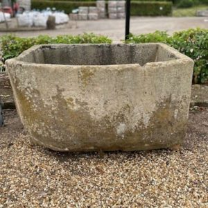 Bow Fronted Yorkstone Trough