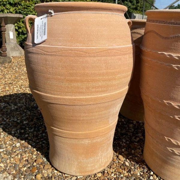 Handmade Cretan Olive Jar 74cm h