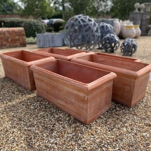 Italian handmade clay trough