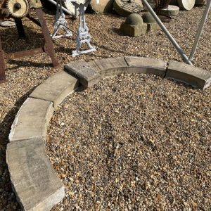 Reclaimed Hand Carved Yorkstone Arch