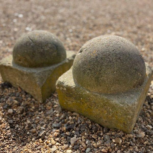 Reclaimed Yorkstone Ball Finial
