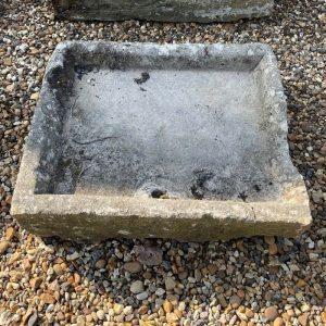 Reclaimed Yorkstone Sink 5.5H x 25 x 21.5D